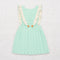 Louisa pinafore - mint