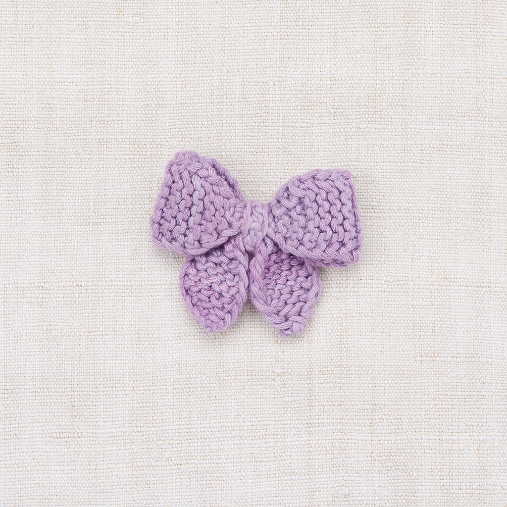 Medium Puff Bow - Lavender