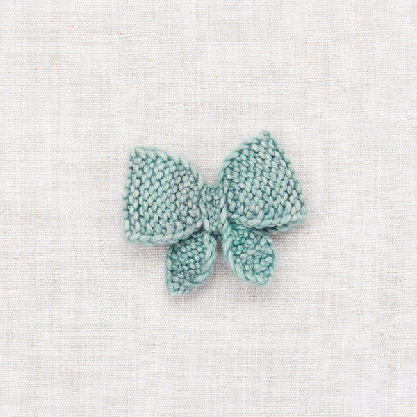 Medium Puff Bow - Sage
