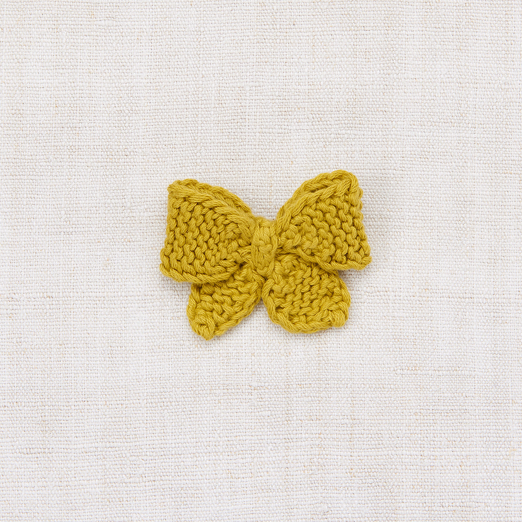 Medium Puff Bow - Spring Green