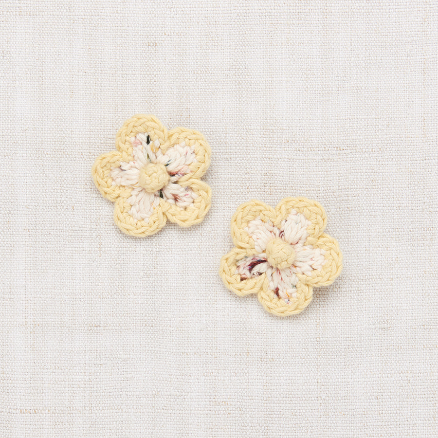 Medium Flower Clip Set - Pixie Confetti