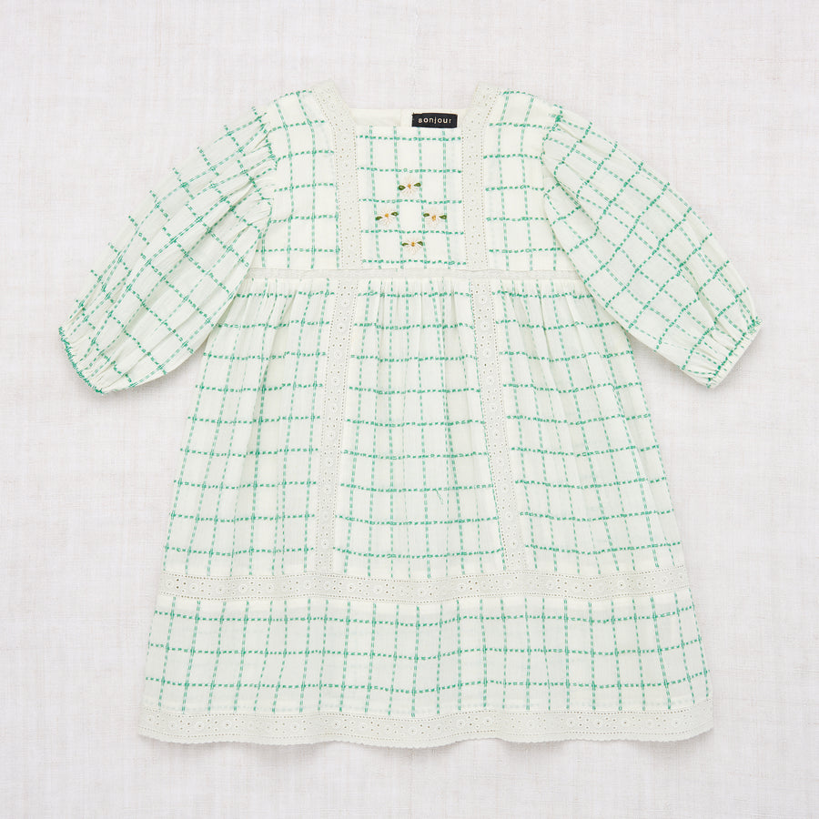 Memory Dress - Green Check