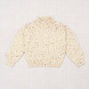 Mock Neck Popcorn Sweater
