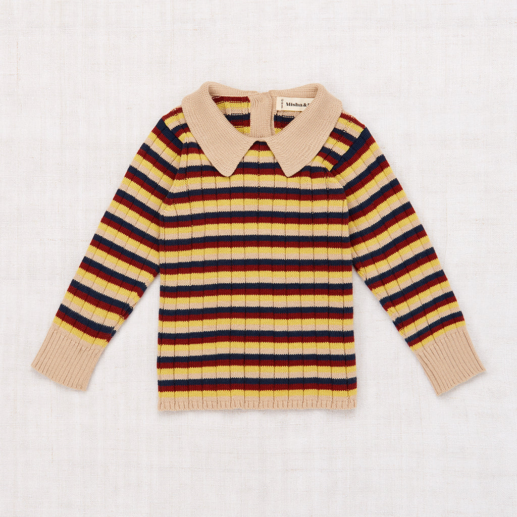 Orion Baby Sweater - Alabaster