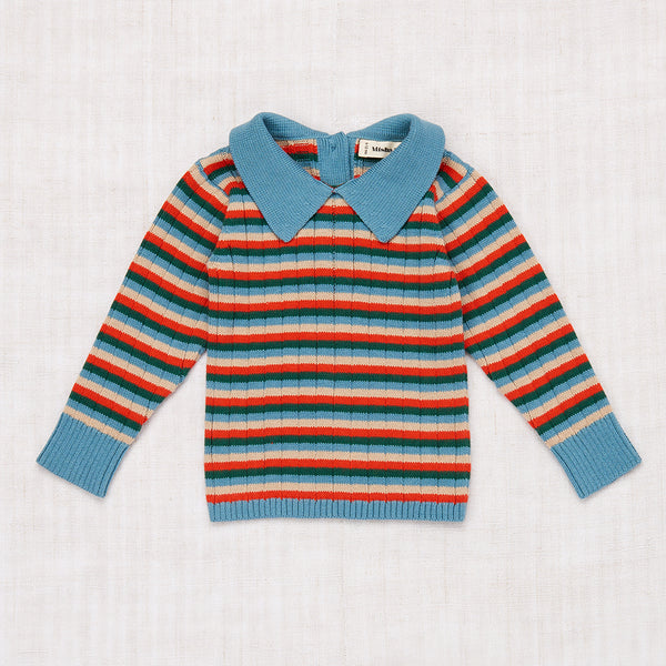 Orion Baby Sweater - Blue Smoke