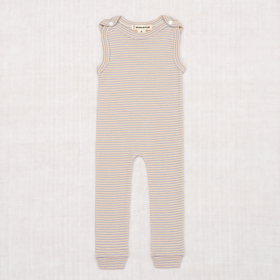 Layette Mini Stripe Overall