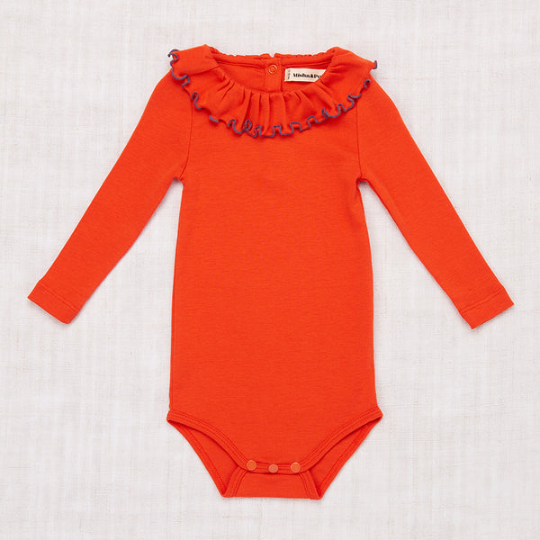 Paloma Onesie - Hot Red