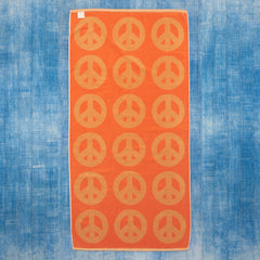 Summer Sand Peace Towel