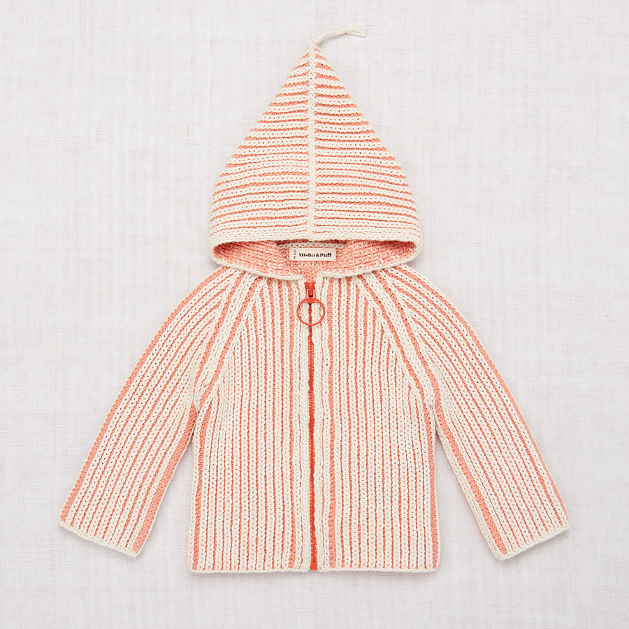 Plum Island Beach Jacket - Coral