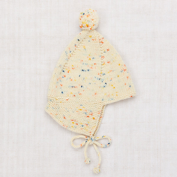 Pointy Peak Hat - Primary Color Confetti