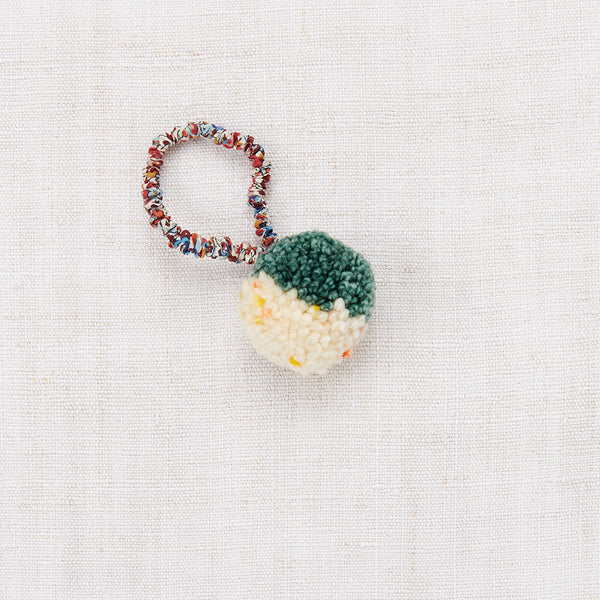 Pompom Hair Tie - Laurel