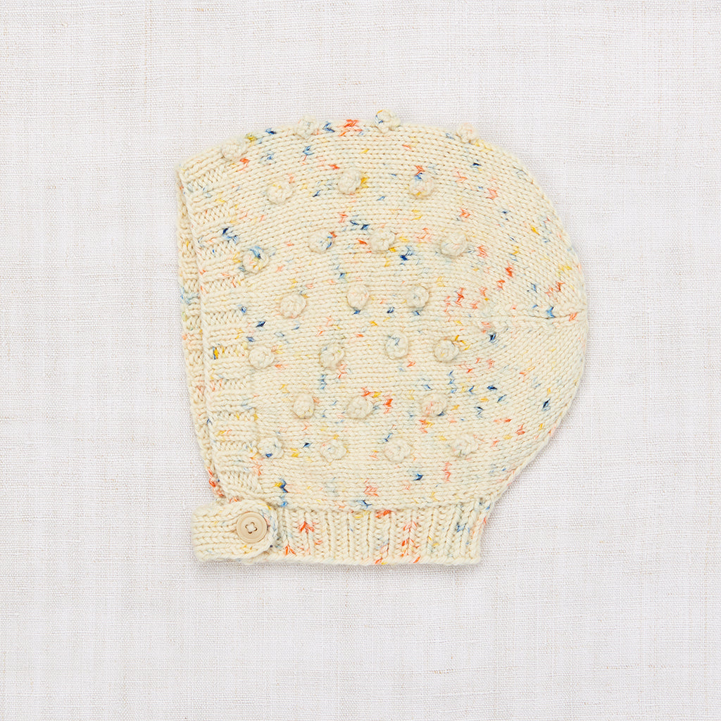 Popcorn Bonnet - Primary Color Confetti