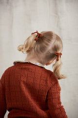 Popcorn Bow Elastic Set - Rust