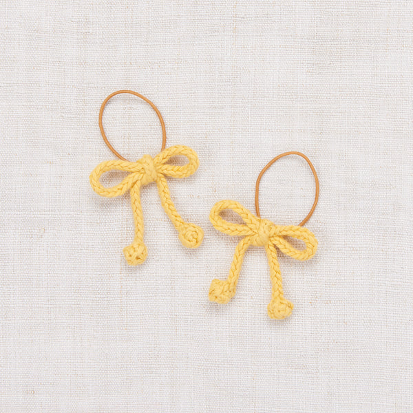 Popcorn Bow Elastic Set - Sunflower