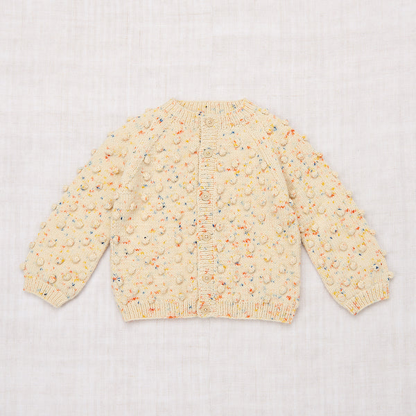 Popcorn Cardigan - Primary Color Confetti