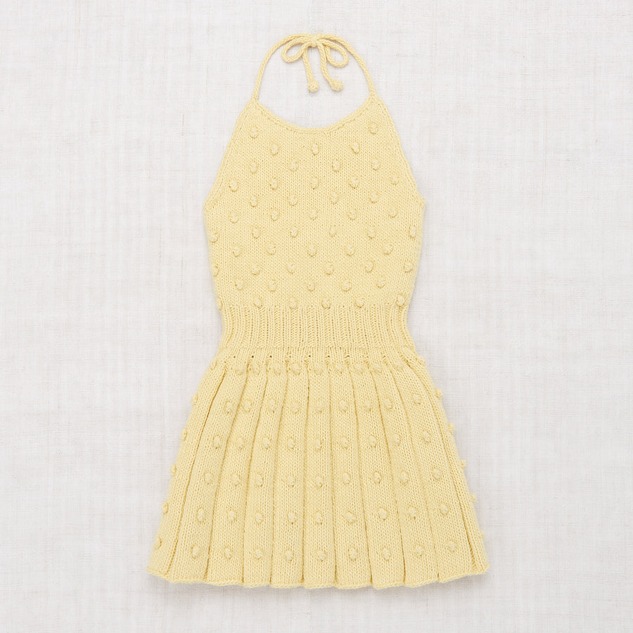 Popcorn Skating Halter Dress