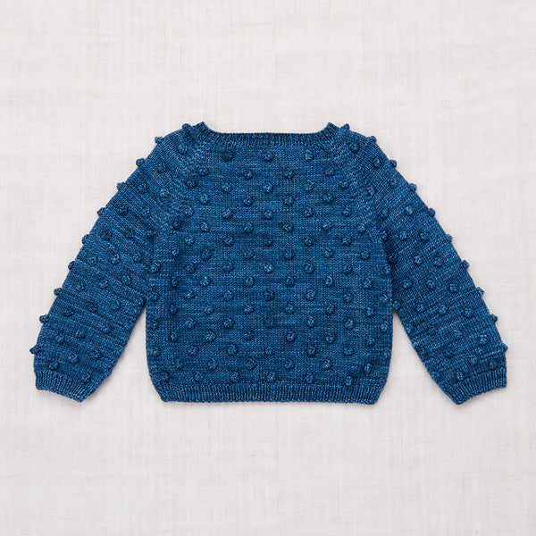 Popcorn Sweater / Blue Smoke