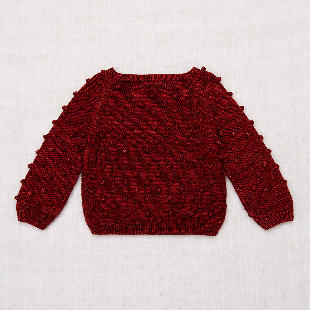 Popcorn Sweater / Brick