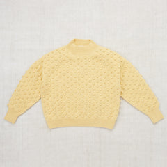 Summer Popcorn Sweater / Buttercream