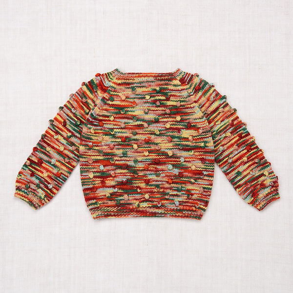 Popcorn Sweater - Foliage Space Dye