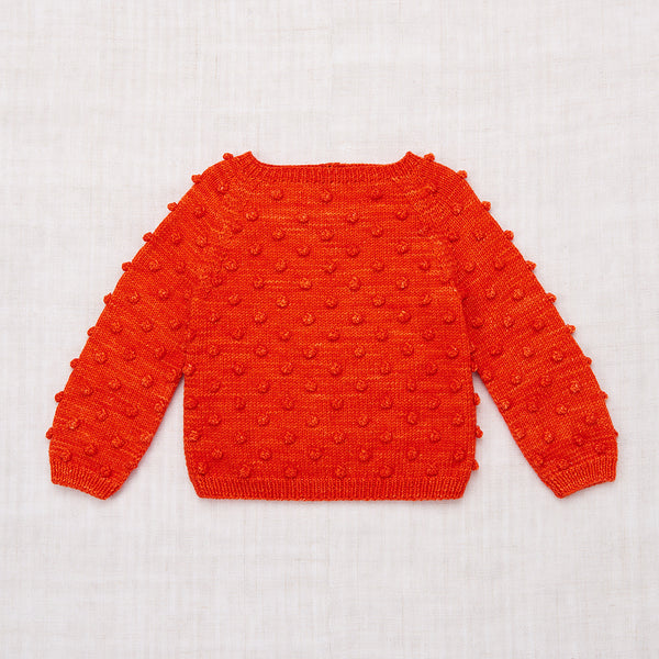 Popcorn Sweater / Hot Red