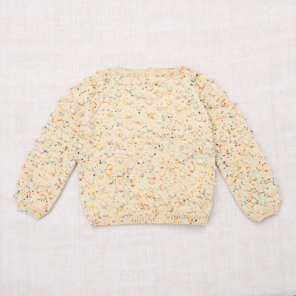 Popcorn Sweater / Primary Color Confetti