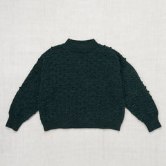 Summer Popcorn Sweater / Spruce