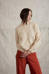 Adult Summer Popcorn Sweater / String