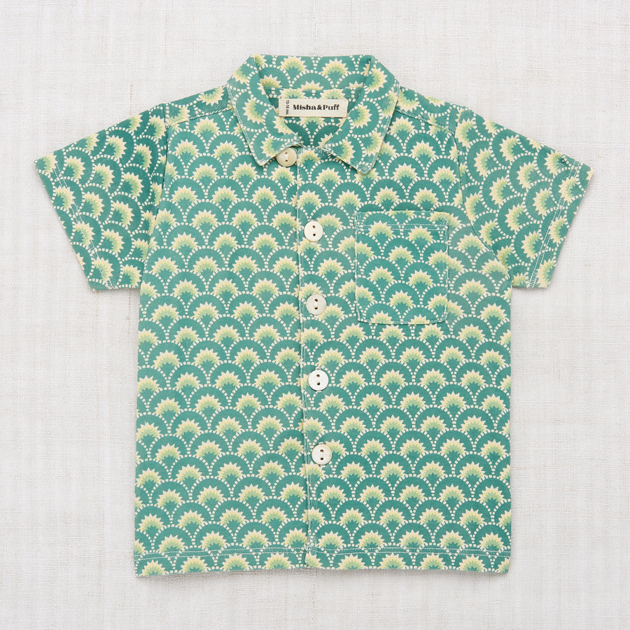 Art Deco Camp Shirt