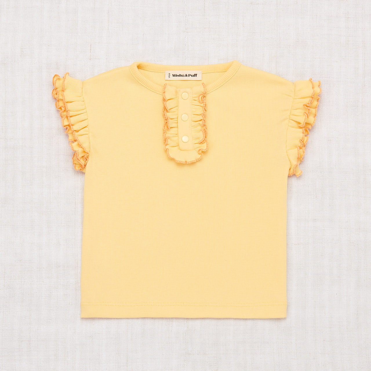 Rae Ruffle Top - Butter