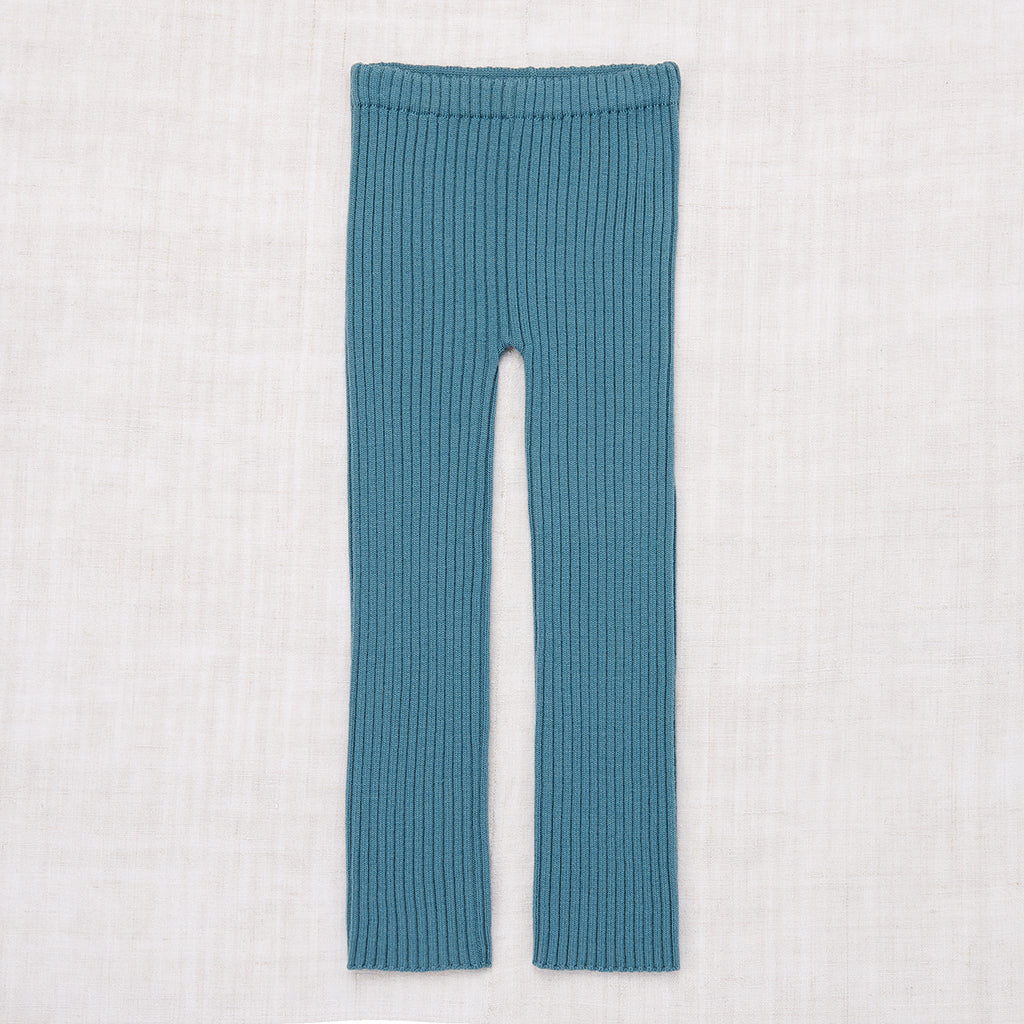 Rib Pants - Blue Smoke