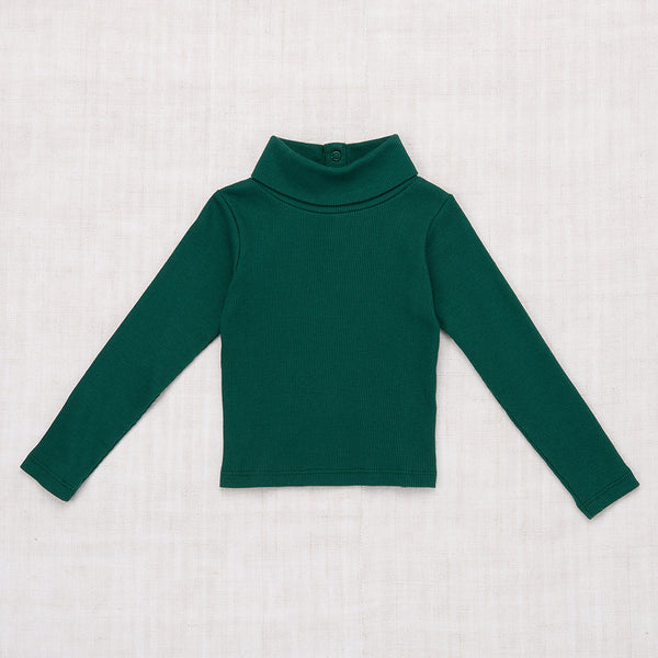Ribbed Turtleneck - Laurel