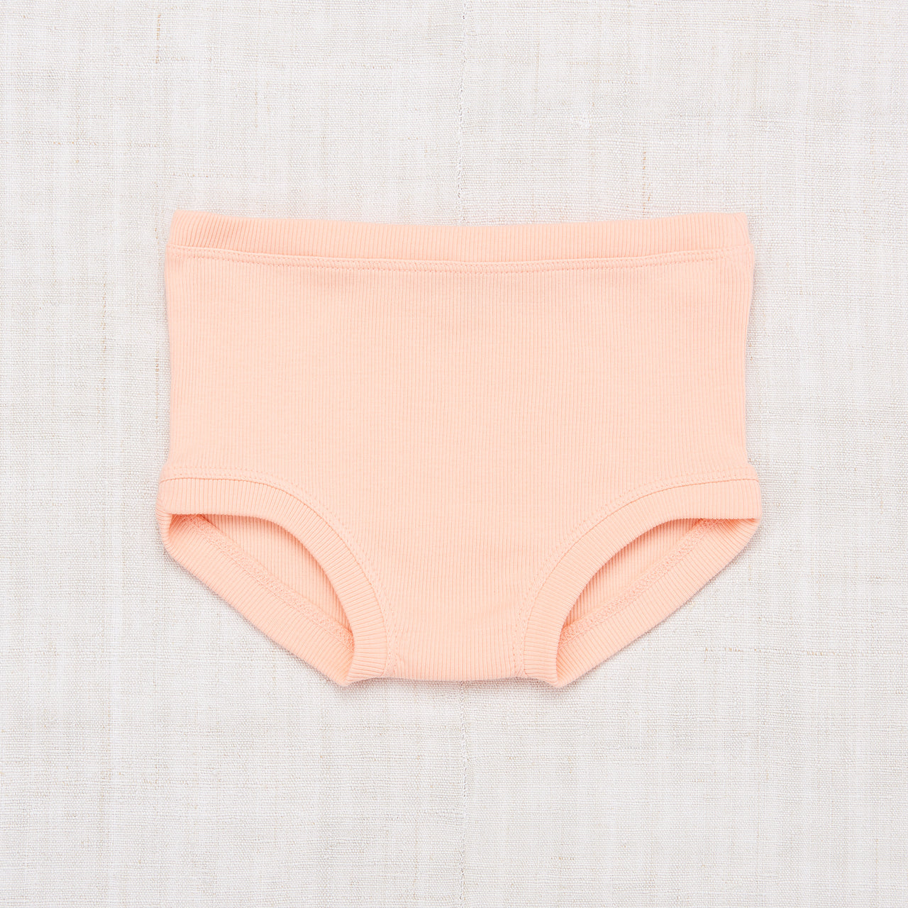 Ribbed Brief - Petal