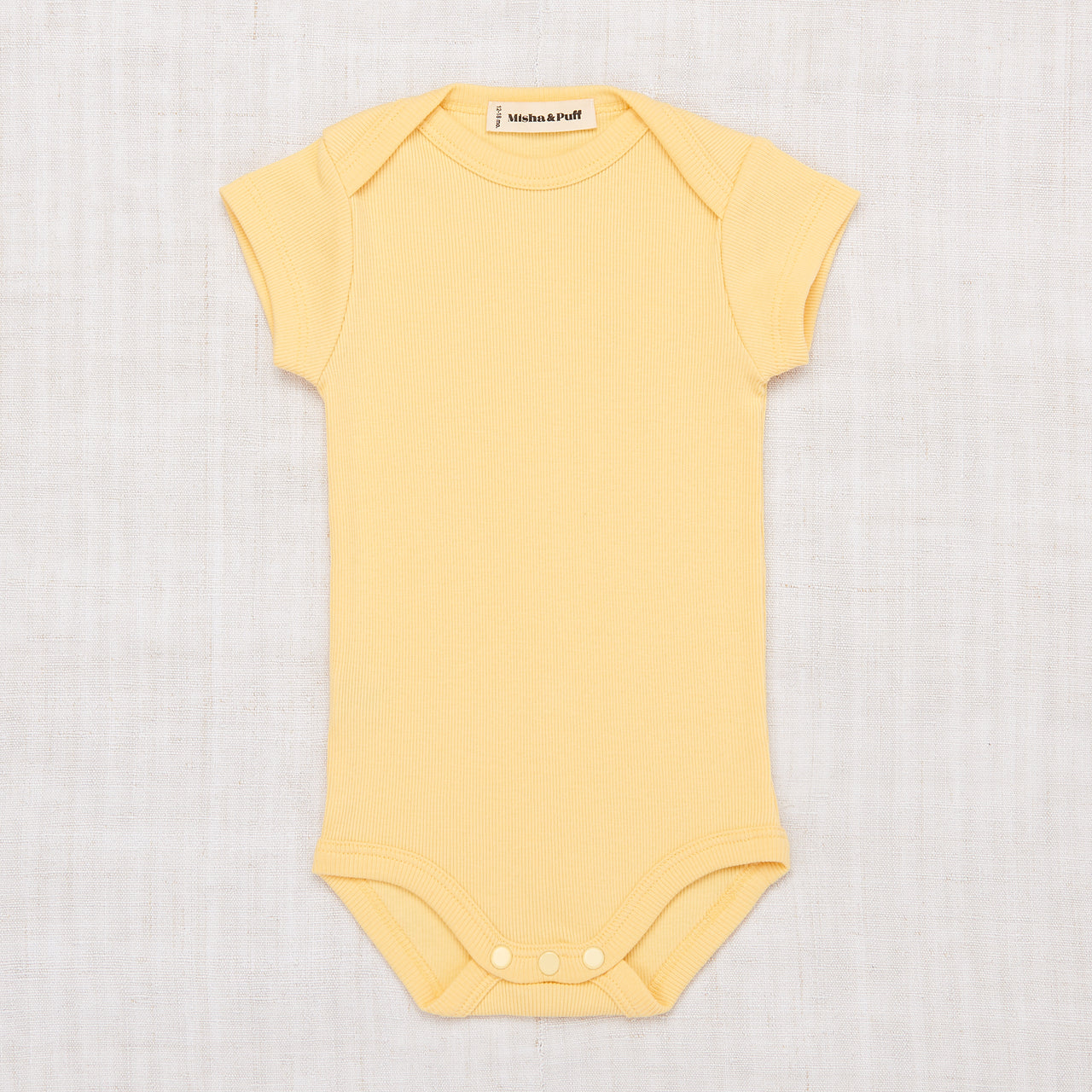 Ribbed Onesie - Butter