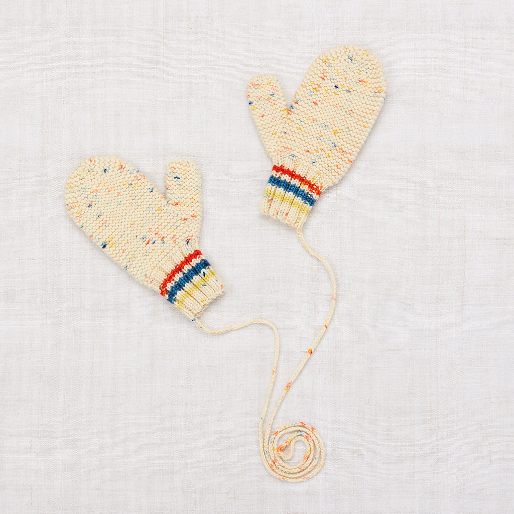 Safe Harbor Mittens - Primary Color Confetti