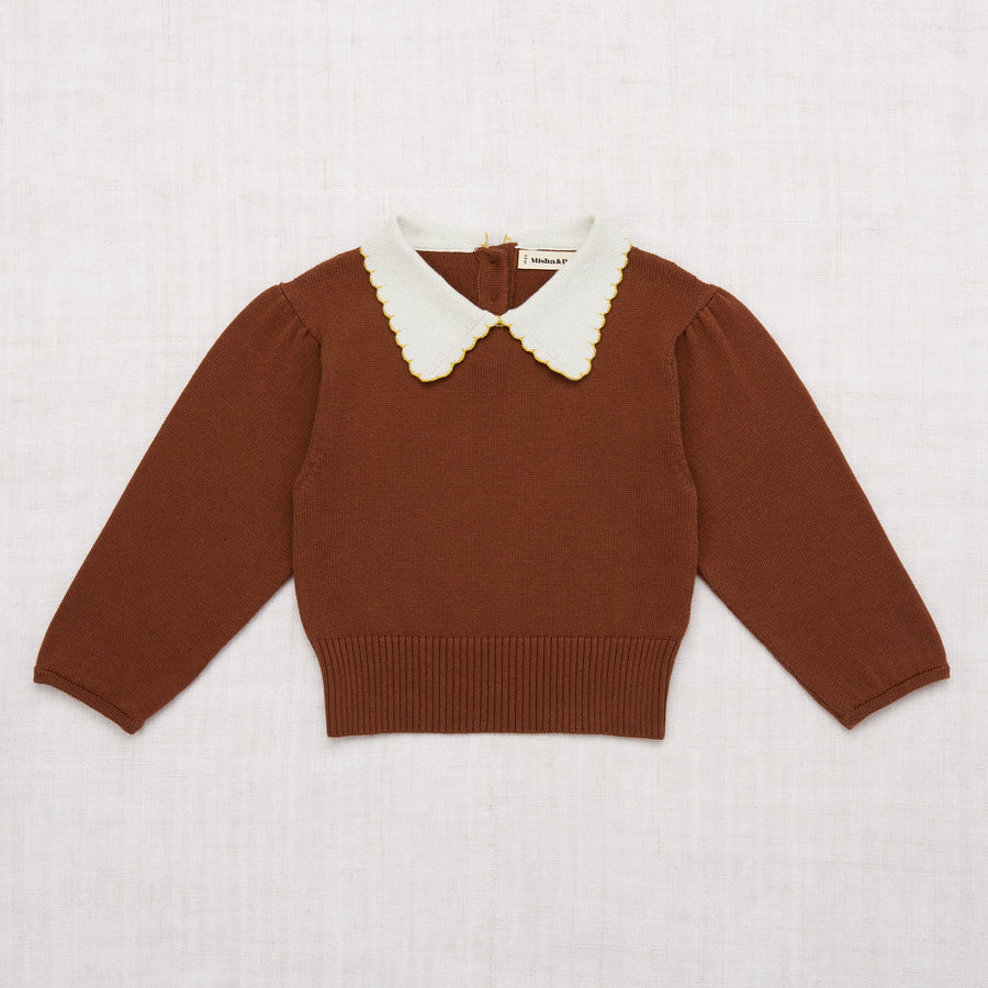 Joanne Collar Sweater