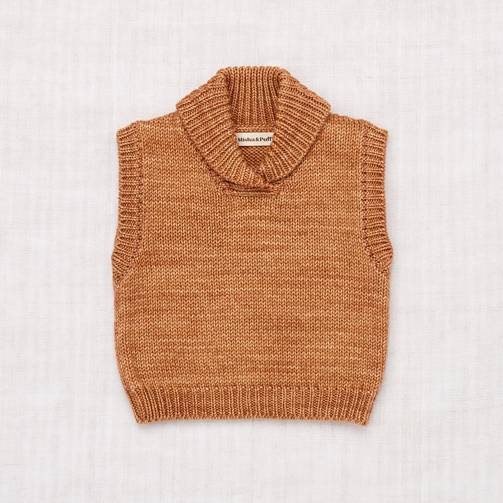 Schoolhouse Vest - Rose Gold