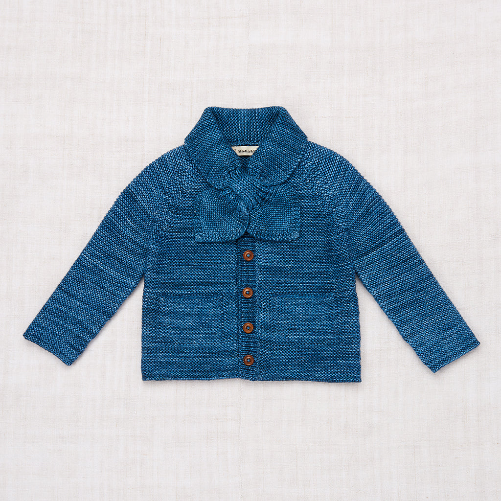 Scout Cardigan - Blue Smoke