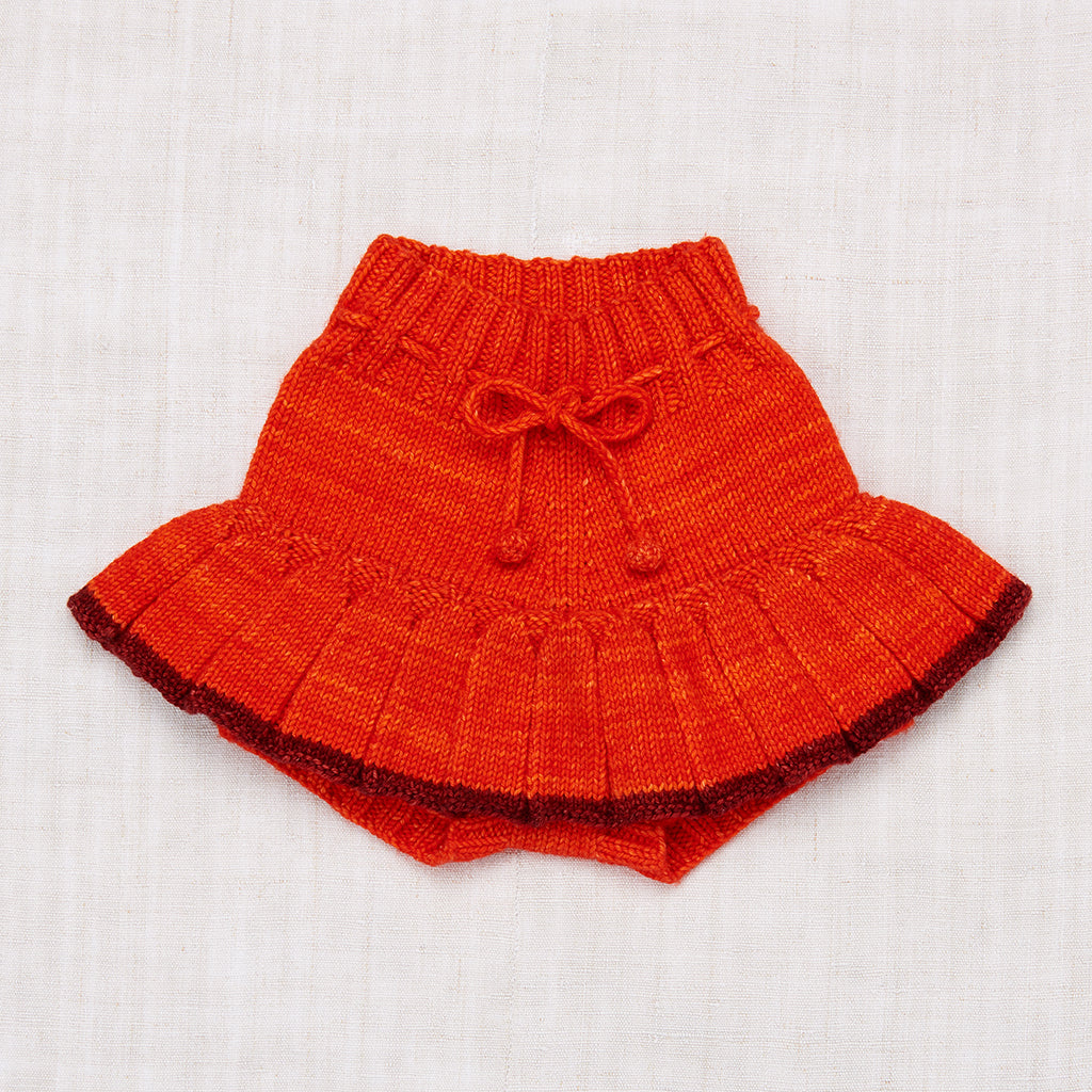Skating Pond Skirt - Hot Red