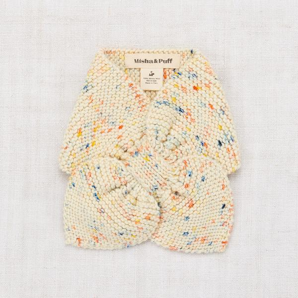 Sledding Scarf - Primary Color Confetti