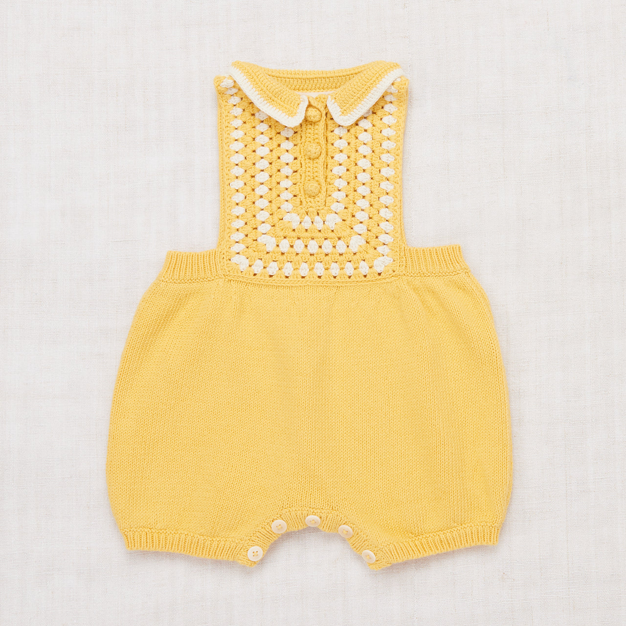 Ezra Romper - Sunflower