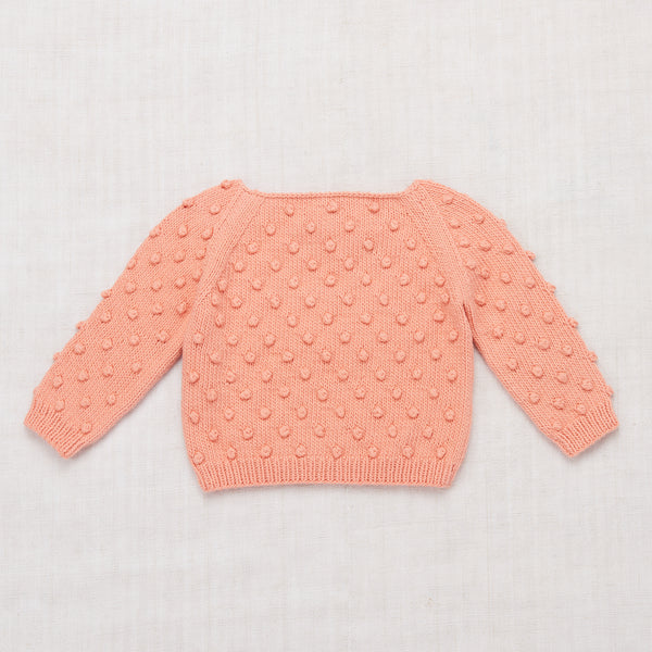 Summer Popcorn Sweater - Coral