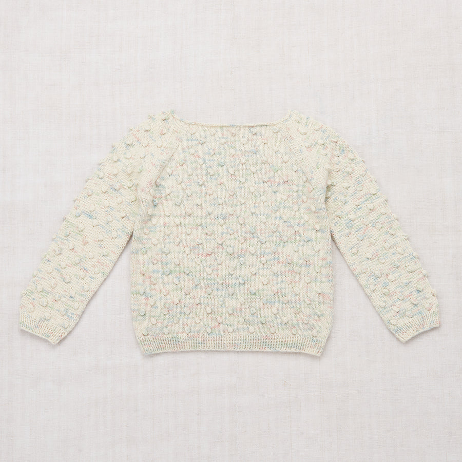 Summer Popcorn Sweater - Faded Space Dye