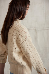 Adult Windowpane Pullover / String