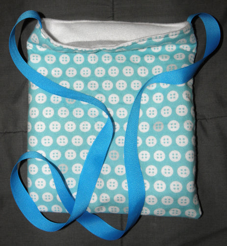 Bonding Bag - Blue Buttons