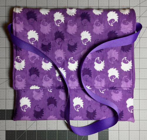 Carry Bag - Purple Hedgehogs