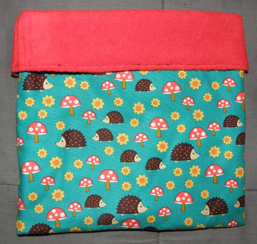 Sleeping Bag - Toadstool Hedgehogs