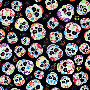 Sleeping Bag - Colorful Sugar Skulls