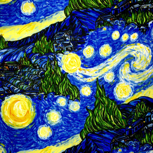 Sleeping Bag - Van Gogh Starry Night