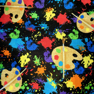 Sleeping Bag - Splatter Paint